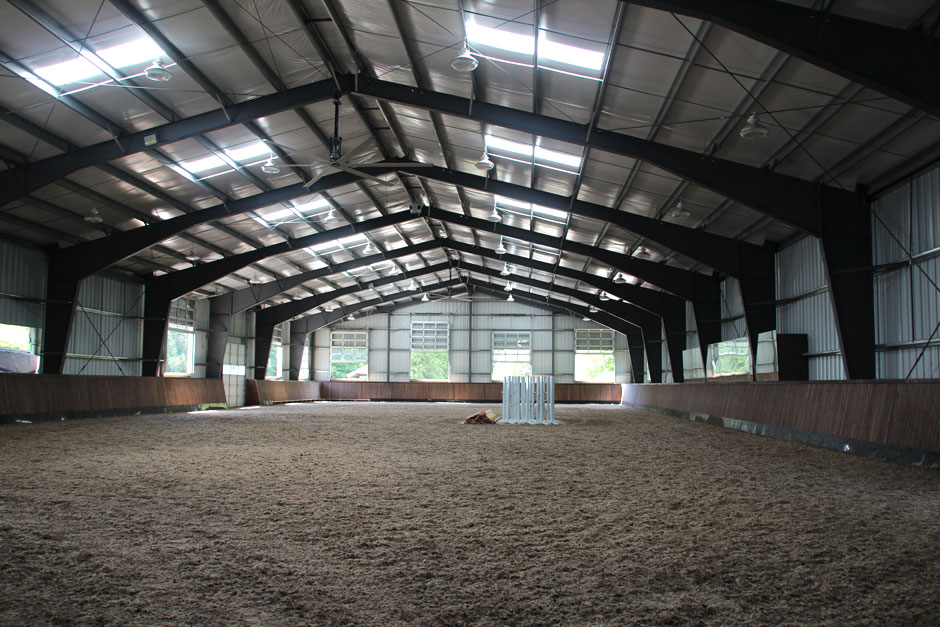 Balmoral Construction Squamish equestrian riding arena commercial builders