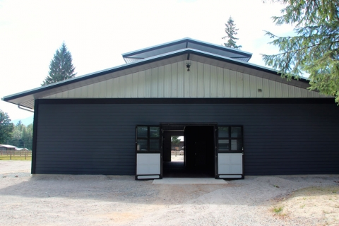 Balmoral Construction Squamish commercial foaling barn