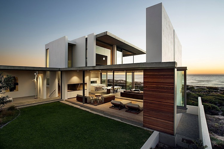 Modern Architecture Beach House luxury beachfront modern architecture - balmoral construction